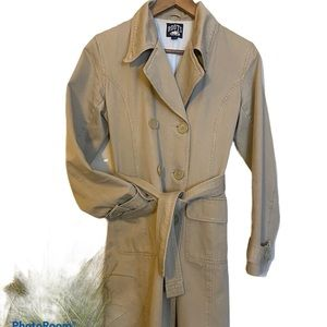 ROOTS twill trench coat